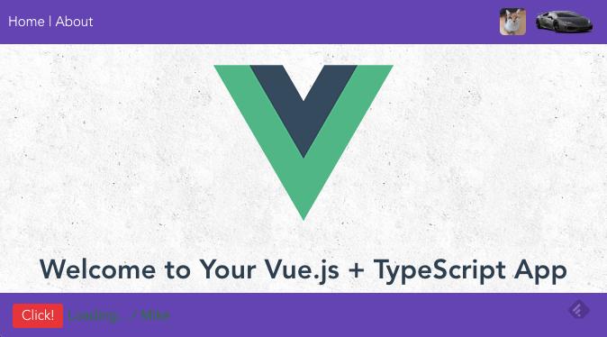 Vue / TypeScript Starter